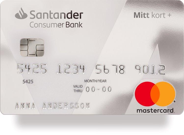 Kreditkortet Mitt kort plus