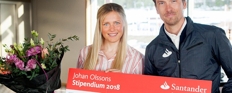 Frida Karlsson och Johan Olsson