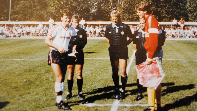 Bryan Robson på Ramundervallen 1988